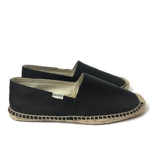 Soludos Dali Slip On Leather Espadrilles